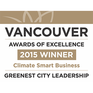 Vancouver Greenest City Award 2015